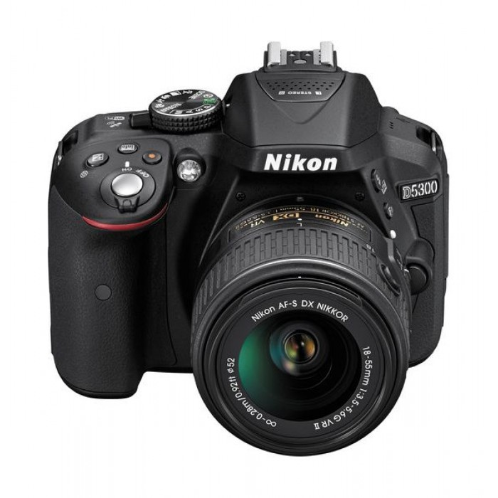 Nikon D5300 24 2MP WiFi DSLR Camera With 18-55 Zoom Lens