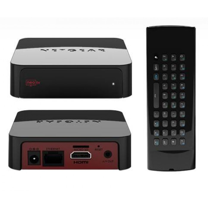 Netgear NTV300SL Max NeoTV Player - Black   Xcite Alghanim