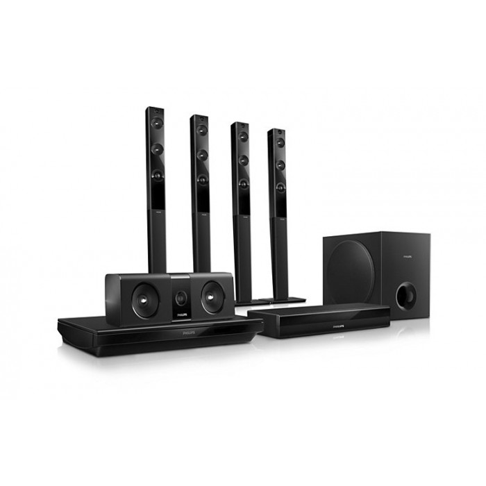 Philips 3D Blu-Ray Smart Home Theater System 5 1 Channel
