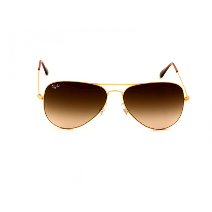 cafb3f4bf619d Ray-Ban 3513 Aviator Sunglasses For Men   Women - Gold Frames ...