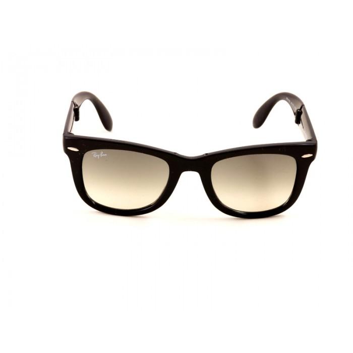 43815507636d2 Previous. Ray-Ban 4105 Wayfarer Sunglasses For Men   Women - Black Frames    Grey Lenses