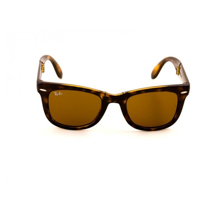 ca7c613b8a0c7 Previous. Ray-Ban 4105 Wayfarer Sunglasses For Men   Women - Brown Frames   Black  Lenses. Ray-Ban 4105 ...