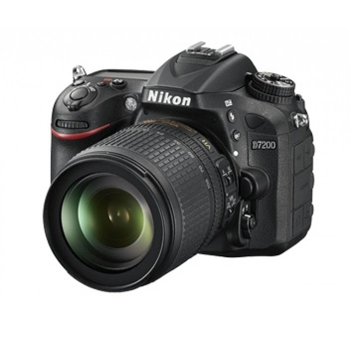 Nikon D-7200 24MP 18-140mm 3 2-inch DSLR Camera - Black