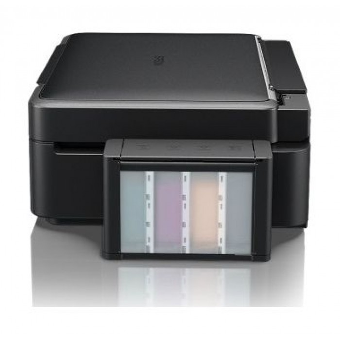 Epson L220 3-in-1 Colour Ink Tank System Printer - Black
