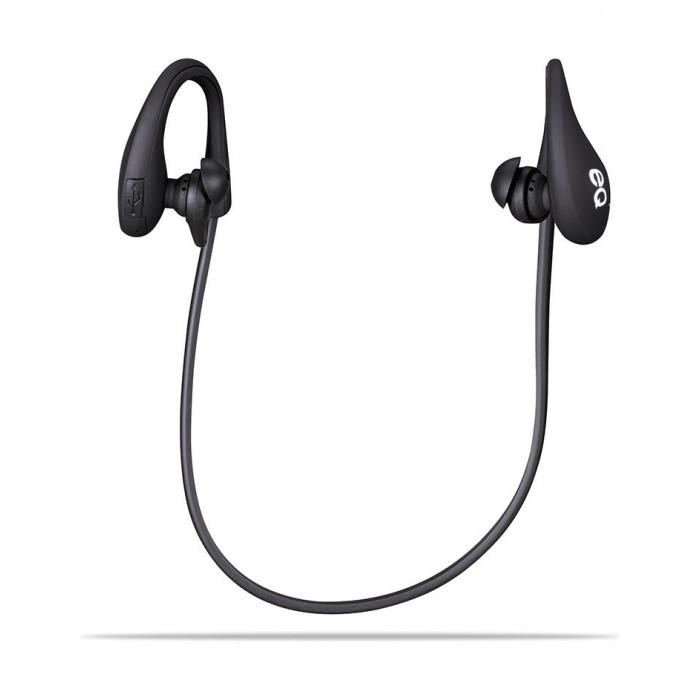 EQ Wireless Bluetooth Earphones (HY-116) - Black