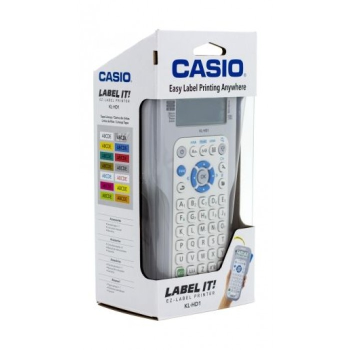 Extra-Large Display KL-HD1 Handheld Label Maker 3 Lines