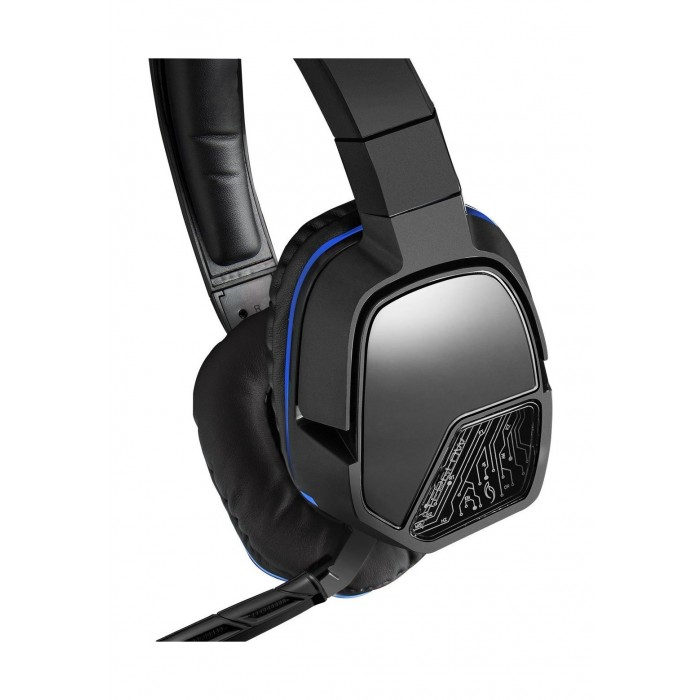 a2216175486 Previous. PDP Afterglow Lvl 3 Stereo Wired Gaming Headset For PS4 -  Black/Blue