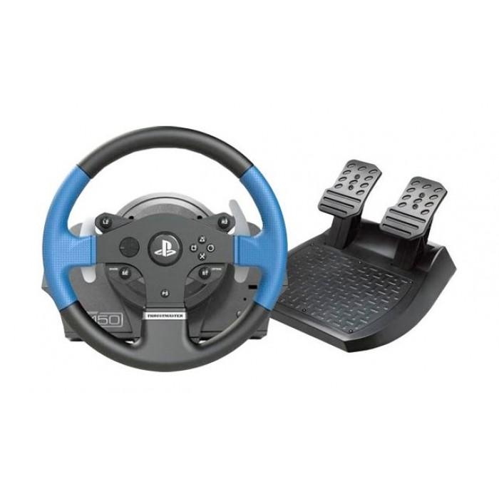 ThrustMaster T150 Force FeedBack Racing Wheel - Blue | Xcite