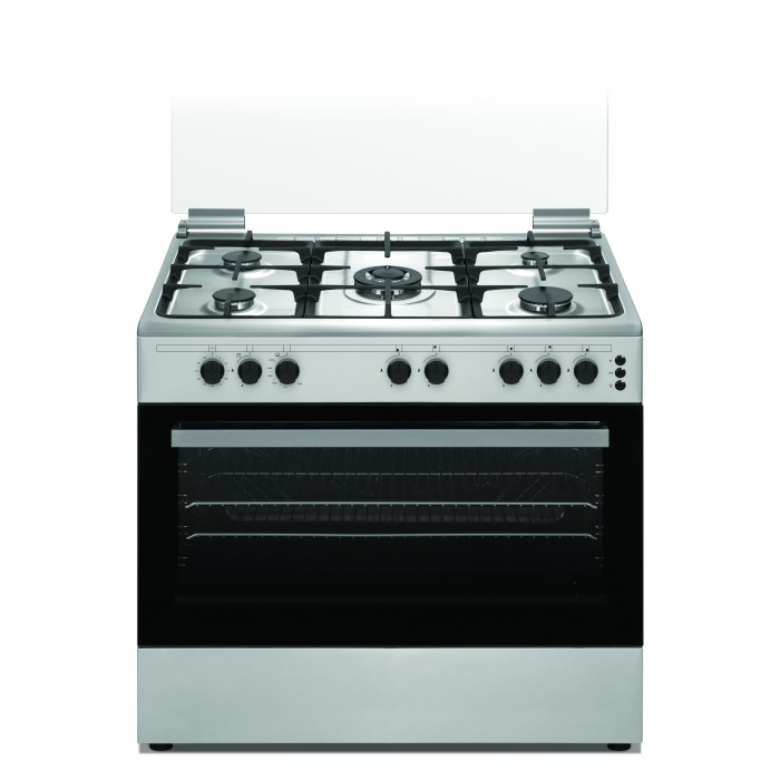 f21f56464fc (2 reviews). Wansa 90x60cm 5 Burners Free Standing Gas Cooker (WCT9502124X)  – Stainless Steel