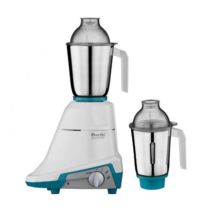 Preethi 600w 2 Jar Mixer And Grinder Mg155 08