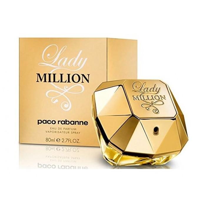 44dd145a2 Lady Million by Paco Rabanne for Women 80mL Eau de Parfum | Xcite ...