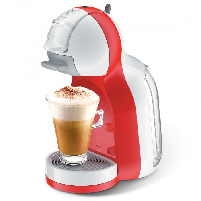 صانعة القهوة مينيمي من دولتشي جوستو نسكافيه - أحمر (Combo2x68gXA)