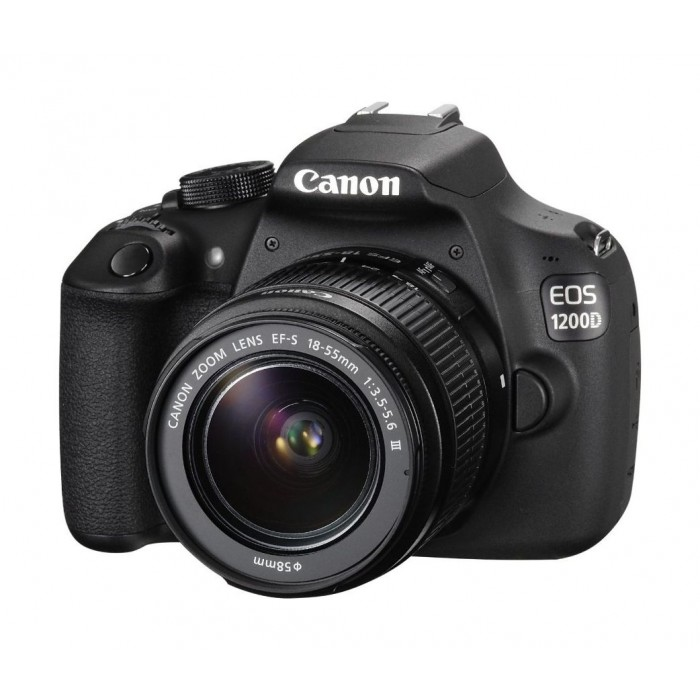 Canon EOS-1200D 18MP 18-55MM Zoom Lens DSLR Camera | Xcite