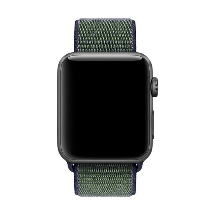 33ab989f Apple 42mm Nike Smart Watch Sport Loop Band (MRPF2) - Midnight Fog