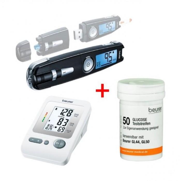 Glucose monitor testing strips