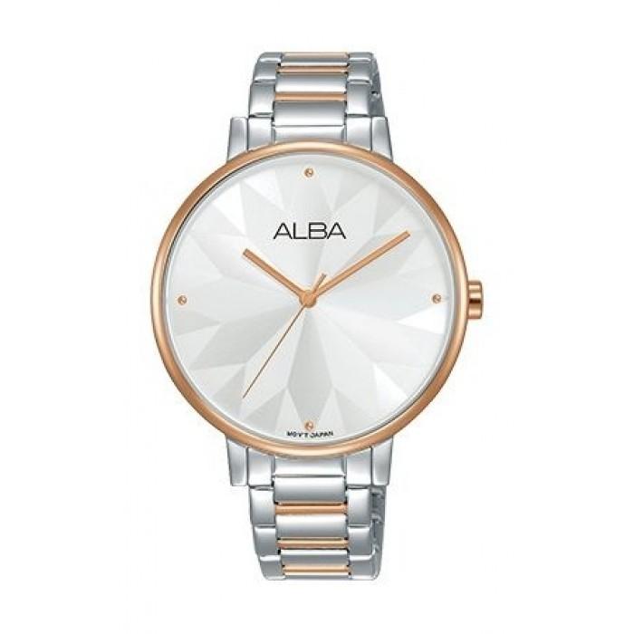 Alba 36mm Analog Ladies Metal Watch Ah8542x1 Silver