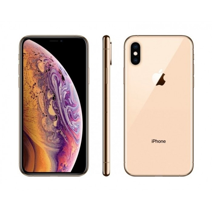 Apple iPhone XS 256GB eSIM Dual SIM Phone - Gold
