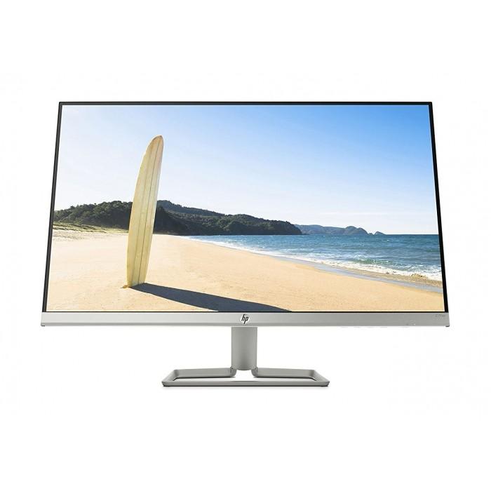 HP 27FW 27 inch Full HD Monitor - White | Xcite Kuwait