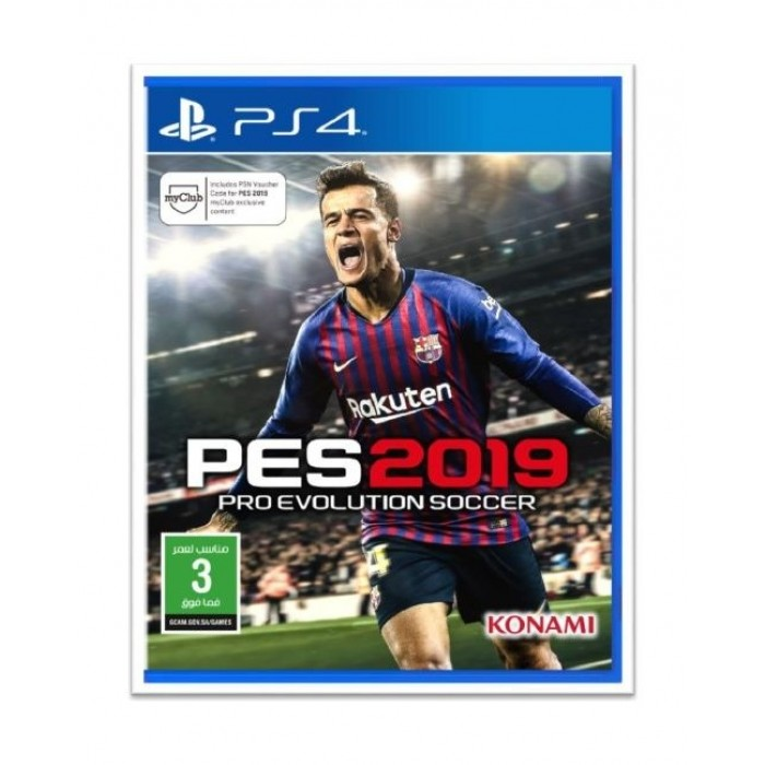 PES2019 Pro Evolution Soccer: PlayStation 4 Game