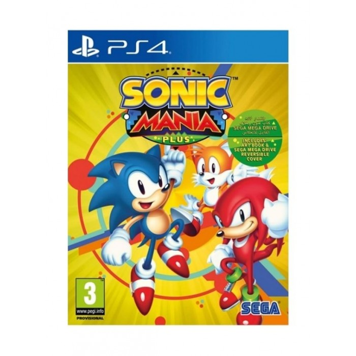 Sega Sonic Mania Plus: PlayStation 4 Game