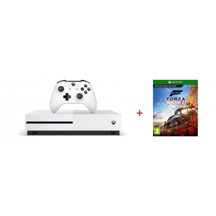 Xbox One S Gaming Console | Forza Horizon 4 Game | Xcite Kuwait