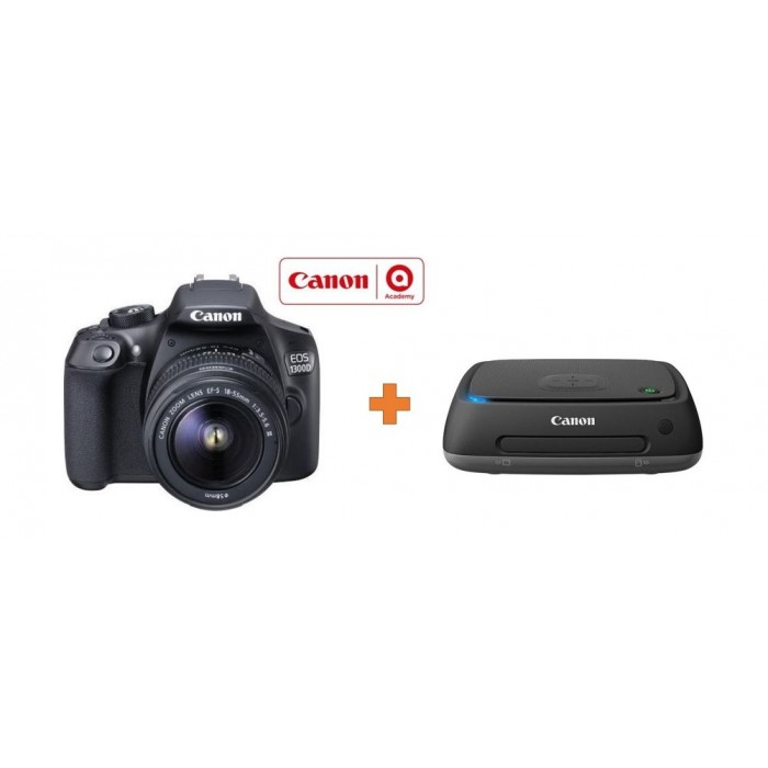 Canon EOS 1300D 18MP WiFi DSLR Camera With 18-55mm Zoom Lens