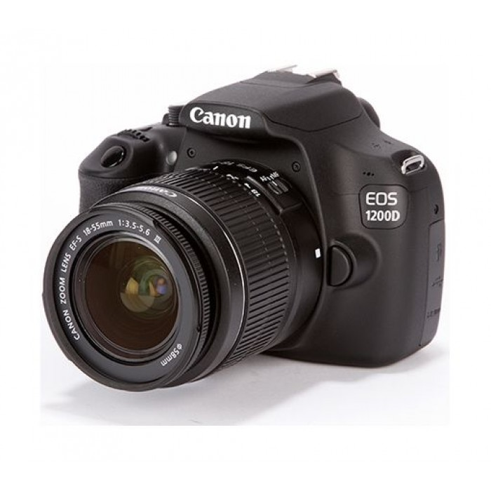 Canon EOS 1200D 18MP DSLR Camera With 18-55mm Zoom Lens
