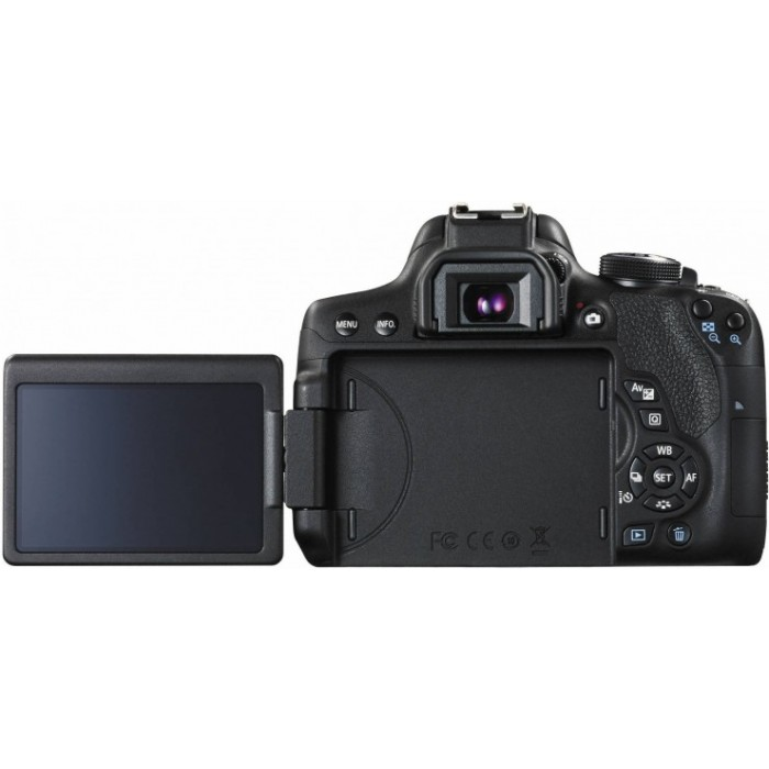 Canon EOS 750D 24MP Wifi DSLR Camera (Body Only) With Bag