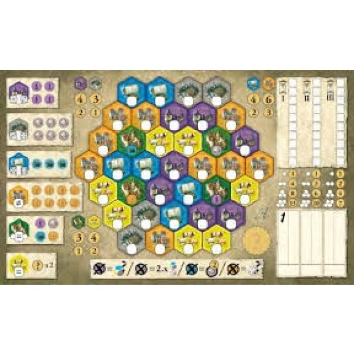 Castles Of Burgundy The Dice Game Xcite Kuwait