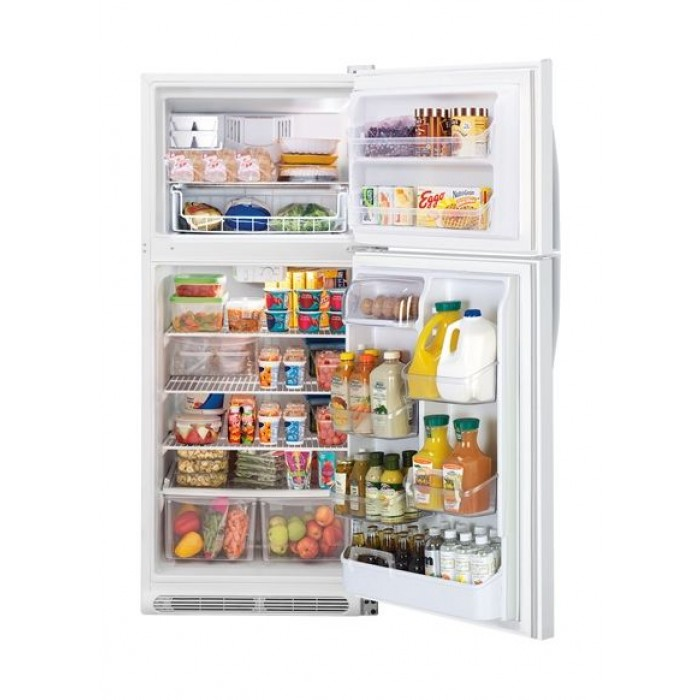 Frigidaire 23 Cft  Top Mount Refrigerator (MRTW23V7RW) - White