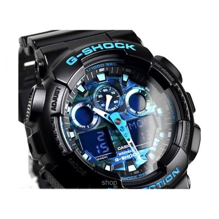 f4772df96 Casio G-Shock Ana-Digital Sport Watch For Men (GA-100CB-1ADR) | G ...