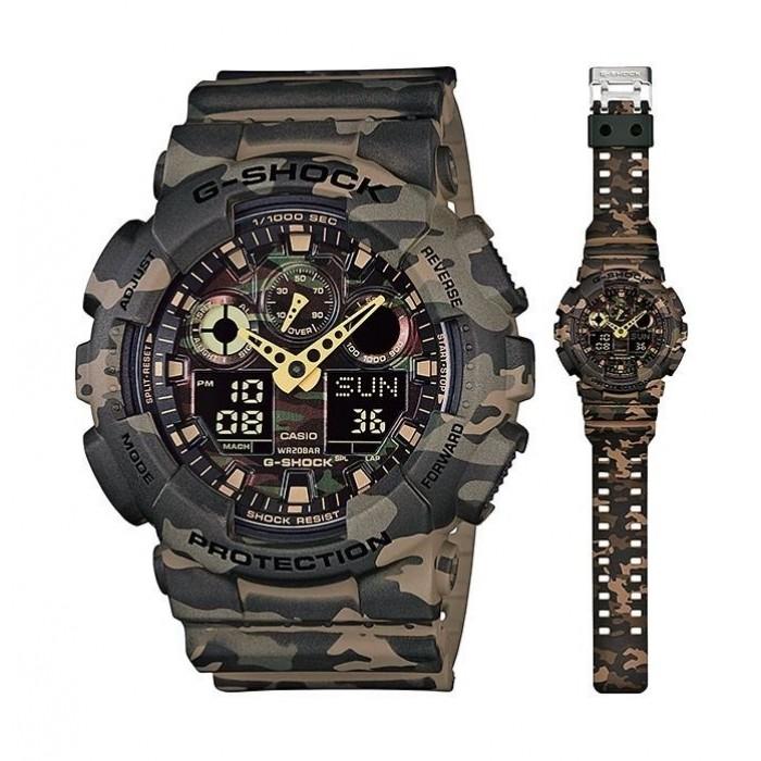 22cdc9611db1 Casio G-Shock Analog-Digital Men s Sport Watch (GA-100CM-5ADR). CASIO  619175. Review this product. Previous