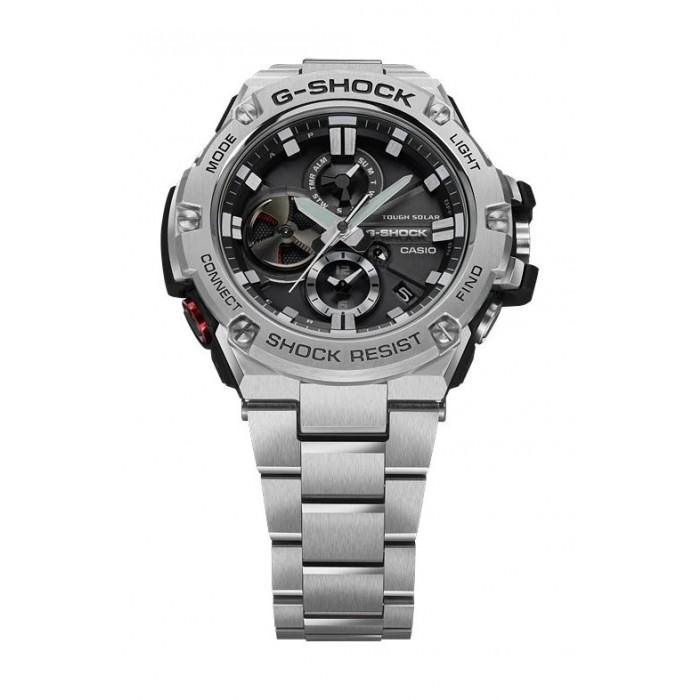 f26e441627d Casio G-Shock G-Steel Analog Watch Sport For Men (GST-B100D-1ADR ...