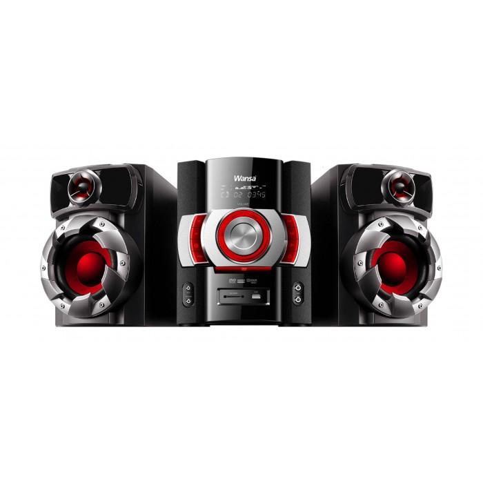 Wansa Bluetooth CD/DVD/USB Mini Speaker System (HF-0120