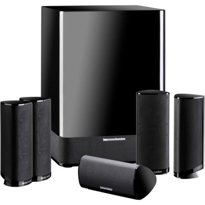 harman kardon hkts11bq 5 1 channel speaker system xcite. Black Bedroom Furniture Sets. Home Design Ideas
