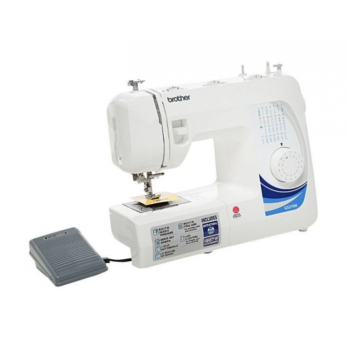 Brother GS4040P Sewing Machine Top Load Bobbin Builtin Needle Interesting Brother 27 Stitch Sewing Machine