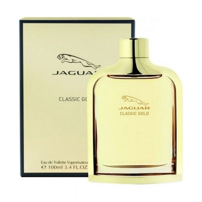 Jaguar Classic Gold For Men 100 Ml Eau De Toilette Xcite Alghanim