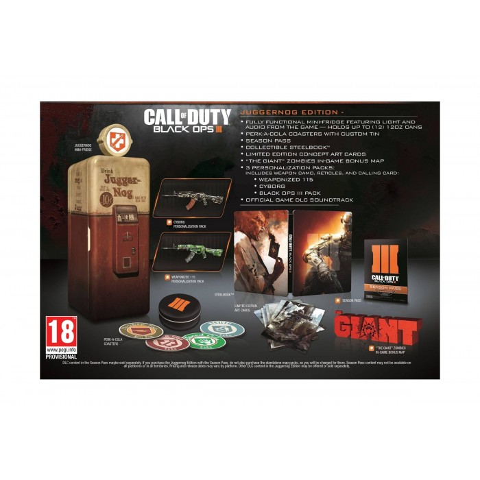 Call Of Duty Black OPS III Juggernog Edition – PlayStation 4
