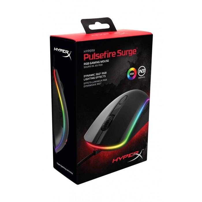 035e5569f0d Kingston HyperX Pulsefire Surge RGB Gaming Mouse - Black | Xcite Kuwait