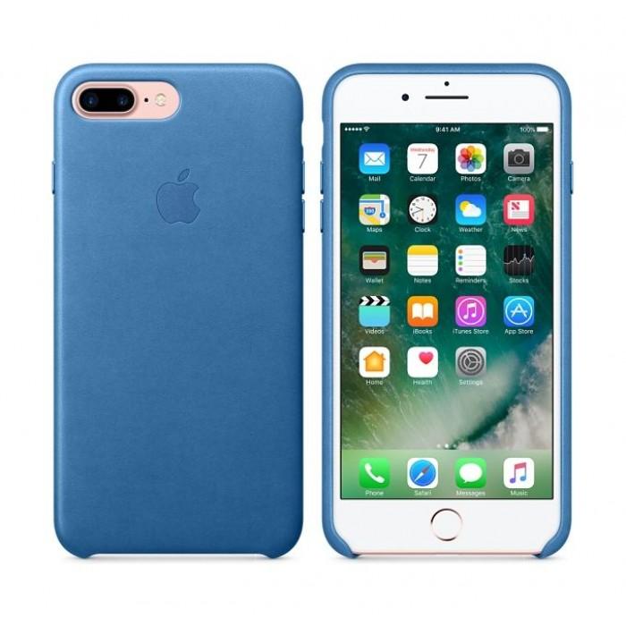 online store e6f9e 2a420 Apple Leather Case For iPhone 7 Plus – Sea Blue | Xcite Alghanim ...