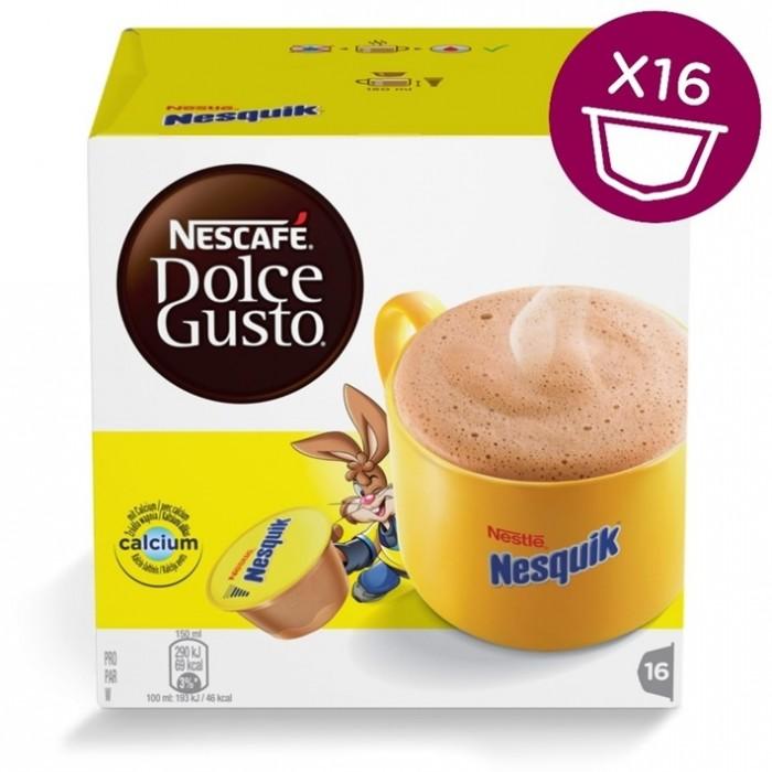 separation shoes 75e28 c9ead Nescafe Dolce Gusto Nesquick Chocolate 16 Caps