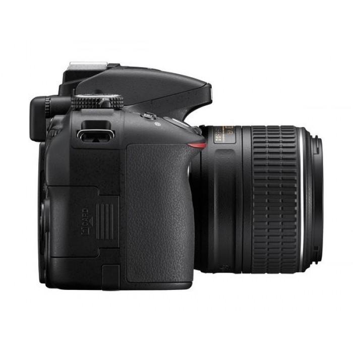 Nikon D5300 24 2MP WiFi DSLR Camera With 18-55 Zoom Lens - Black