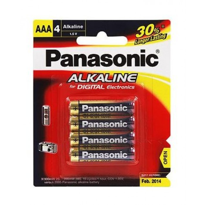 Panasonic AAA Size Battery Promotion Packs (4+2)