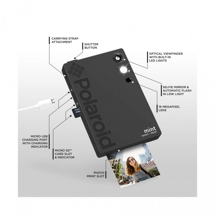 Polaroid Mint Instant Print Digital Camera | Polaroid