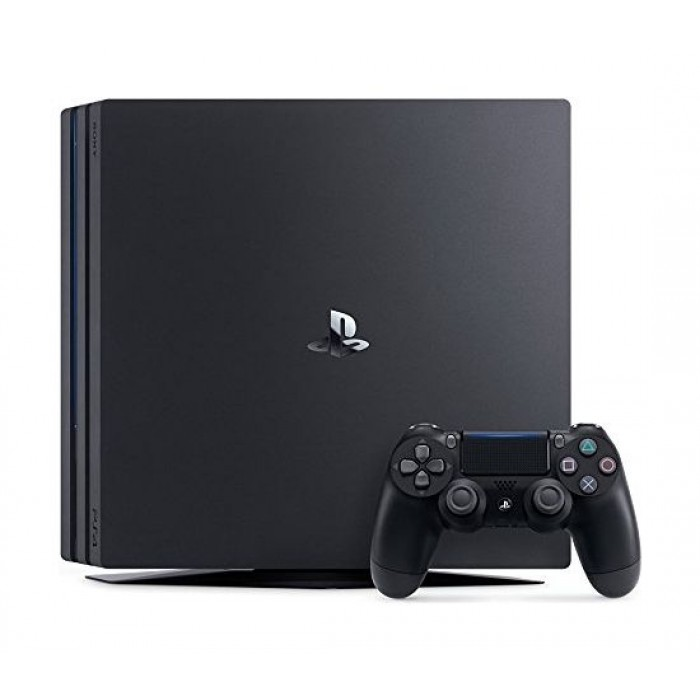 Sony PS4 Pro 1TB Gaming Console (PAL) – Black + PlayStation