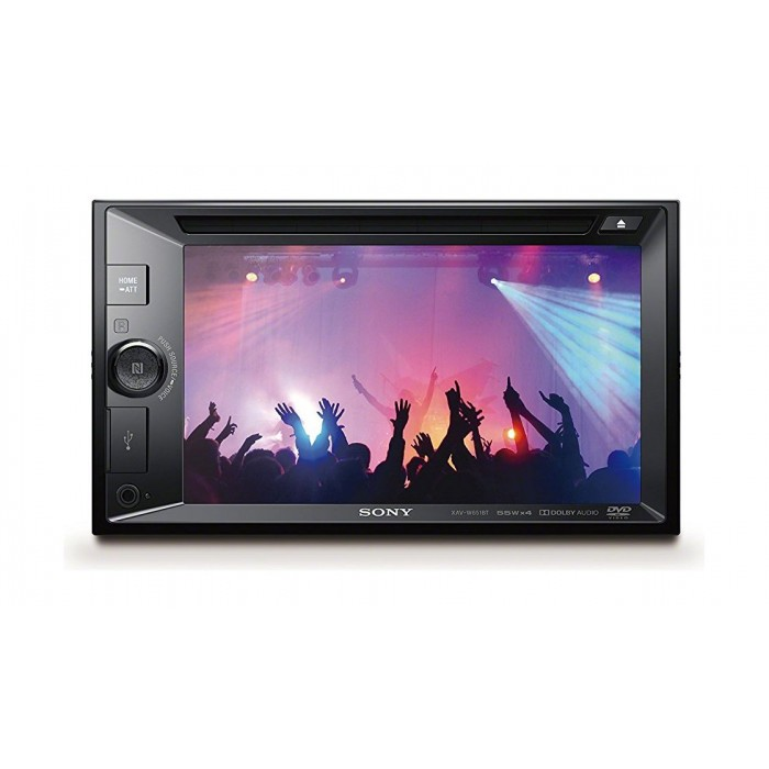 Sony 6 2-inch Bluetooth NCF LCD DVD Receiver (XAV-W651BT)