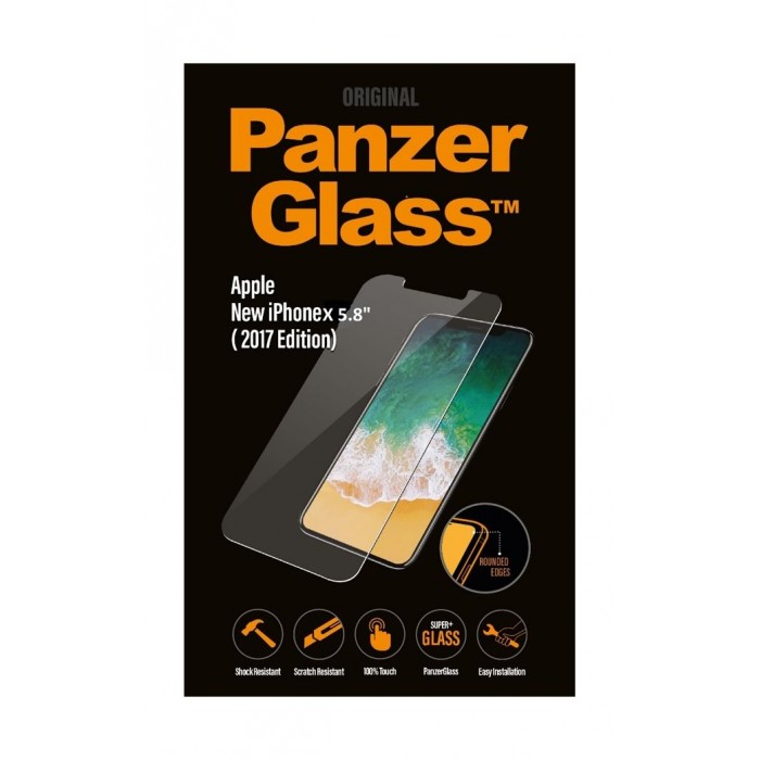 brand new 1d683 85bc4 Panzer Glass Screen Protector For iPhone X 5.8 – (2017)