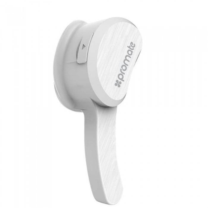 Promate Aural Bluetooth Wireless Mono Earphone (v4 1+EDR) - White