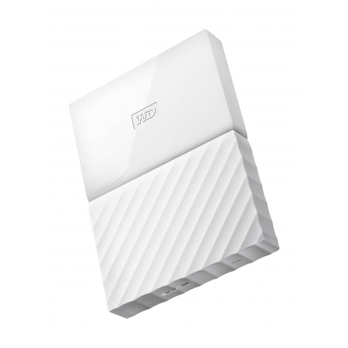 WD 1TB My Passport USB 3 0 External Hard Drive - ًWhite
