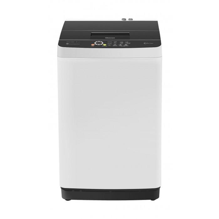 Hisense 8KG Top Load Washing Machine (WTCT802) - White